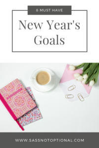 New Year's Resolution Goals to Have