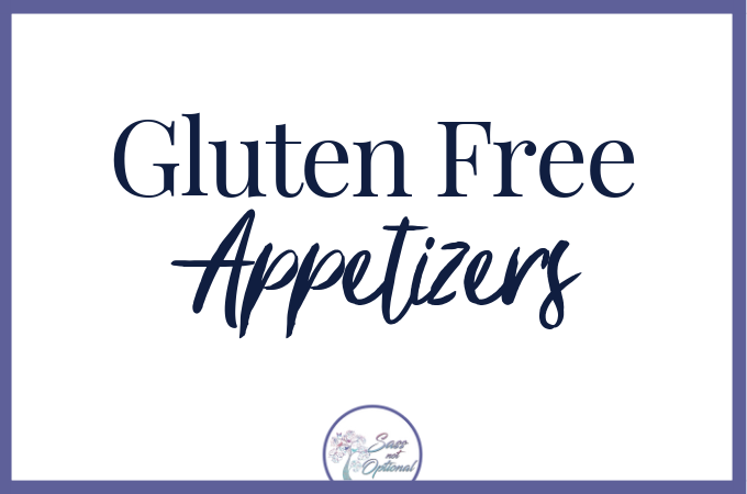 Appetizers - Gluten Free Recipes