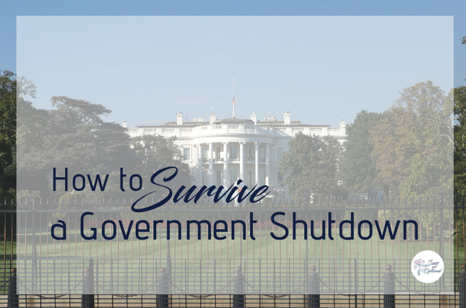 How to survive a government shutdown without pay