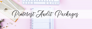 Consultation for Pinterest Audit Packages with Crystal J Chapman
