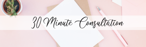 Free 30 Minute Consultation with Crystal J Chapman for your blog and Pinterest strategy needs
