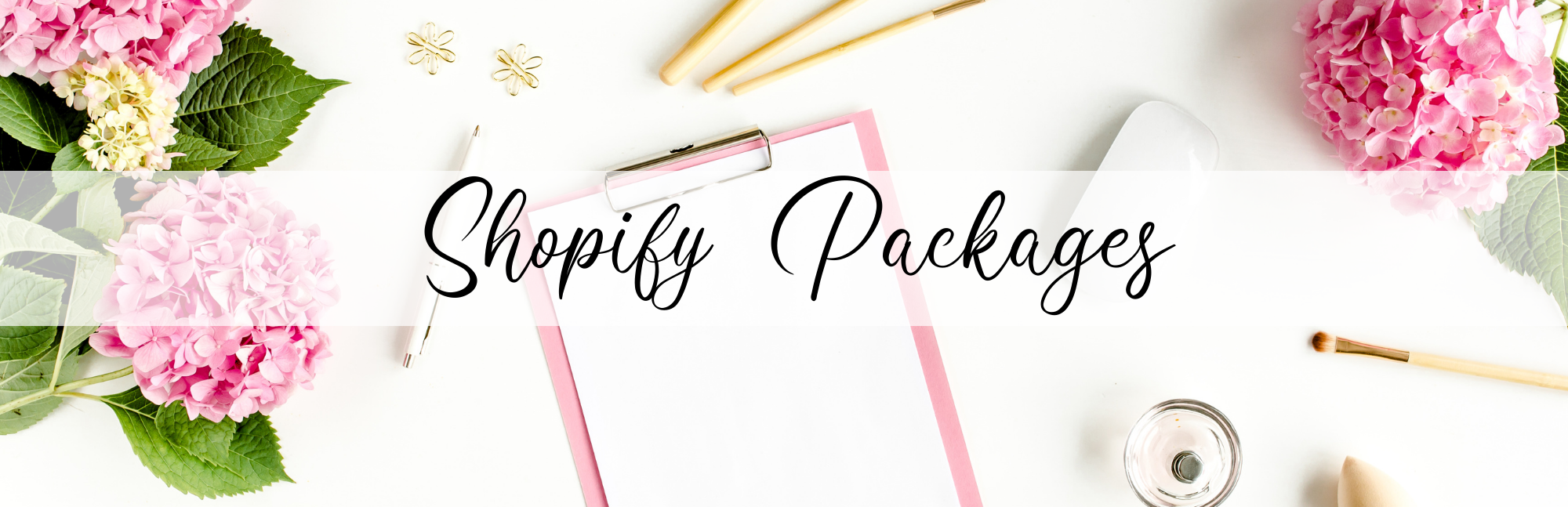 Shopify Setup Packages - Crystal J Chapman